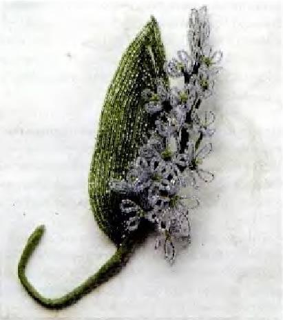 Источник. следующая. книги Цветы из бисера.  Французское искусство изготовления бисерных цветов - Арлин Бейкер...