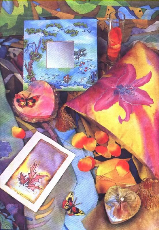 Батик картины своими руками 97