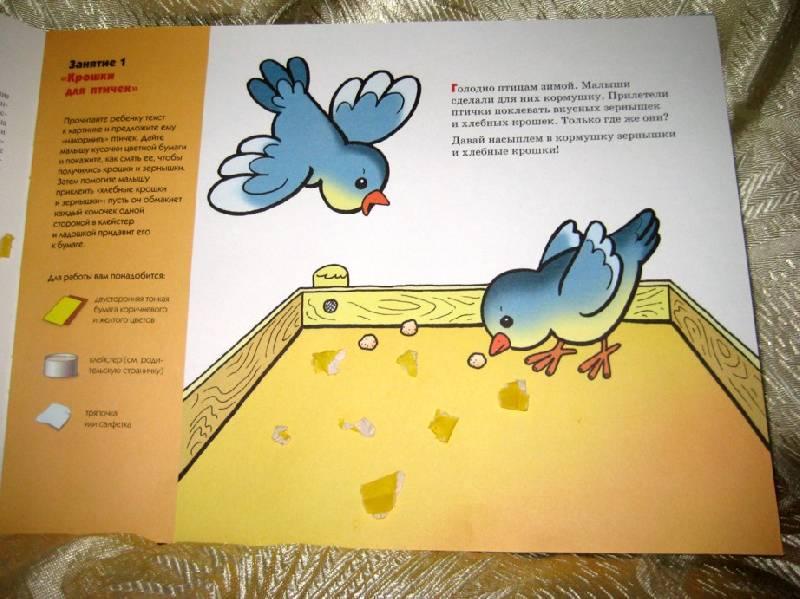 Иллюстрация 1 из 22 для Волшебная бумага:  Художественный альбом для занятий с детьми 1-3 лет. - Елена Янушко | Лабиринт - книги. Источник: Княженика