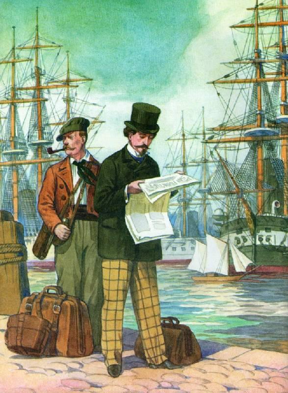 Иллюстрация 1 из 15 для Капитан Немо - Жюль Верн   Лабиринт - книги. Источник: Zhanna