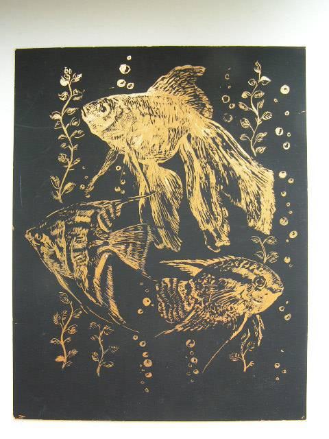 Иллюстрация 1 из 12 для Гравюра: Жизнь животных. Рыбки   Лабиринт - игрушки. Источник: ИринаИ