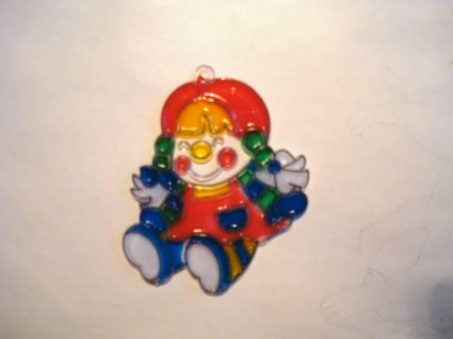 Иллюстрация 1 из 2 для Витраж малый: Кукла | Лабиринт - игрушки. Источник: soika