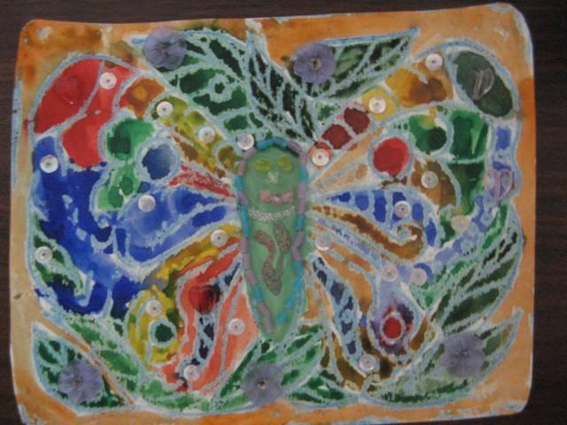 Иллюстрация 1 из 4 для Трафареты рельефные. Бабочки | Лабиринт - игрушки. Источник: libe