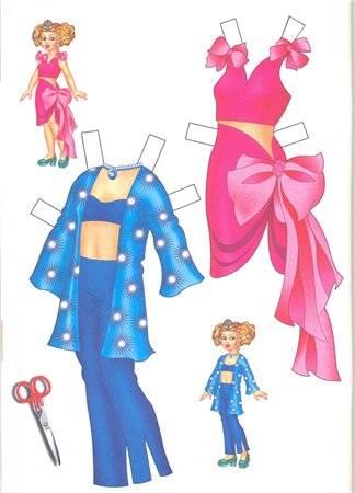 Все Мамы знакомы с детства с увлекательной игрой вырезалки.  Красивые наряды.