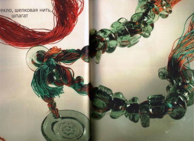 """Иллюстрация 35 к книге  """"Украшения из перламутра, бисера, стекла, бусин """", фотография, изображение, картинка."""
