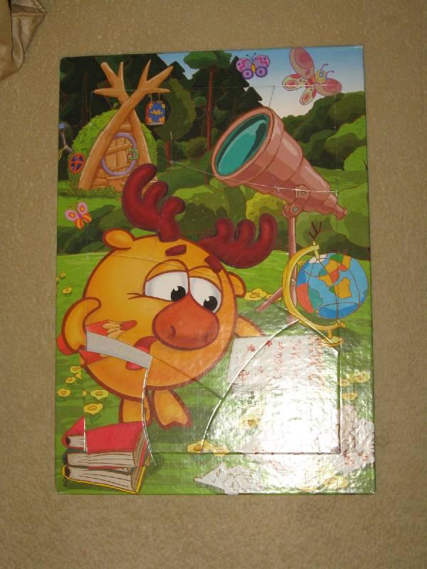 Иллюстрация 1 из 3 для Развивающая мозаика. Смешарики. Лосяш | Лабиринт - игрушки. Источник: Шульчик