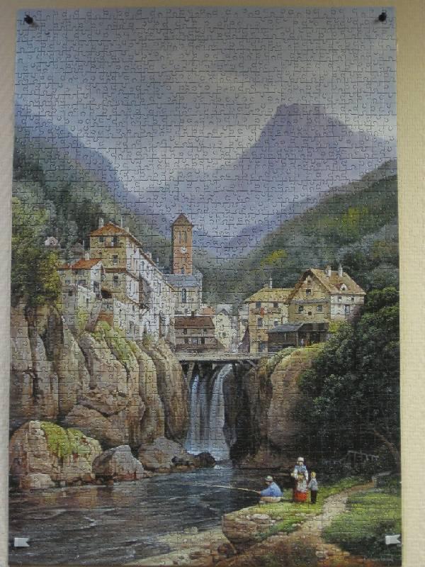 Иллюстрация 1 из 5 для Puzzle-1500. Вид на Kanderstein (С-150441) | Лабиринт - игрушки. Источник: Марийка