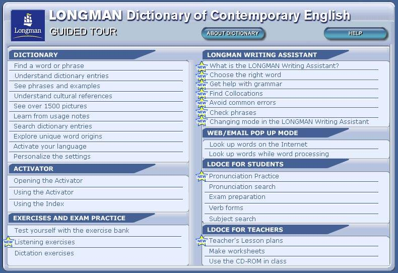 Иллюстрация 1 из 11 для LONGMAN Dictionary of Contemporary English (+ 2CD) | Лабиринт - книги. Источник: Dana-ja