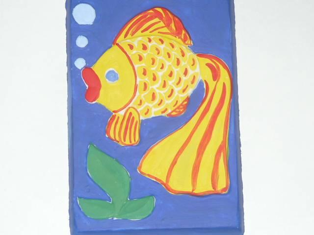 """Иллюстрация 1 из 8 для Ваятель. Набор для создания объемных барельефов """"Рыбка"""" (707012)   Лабиринт - игрушки. Источник: Ромашка:-)"""