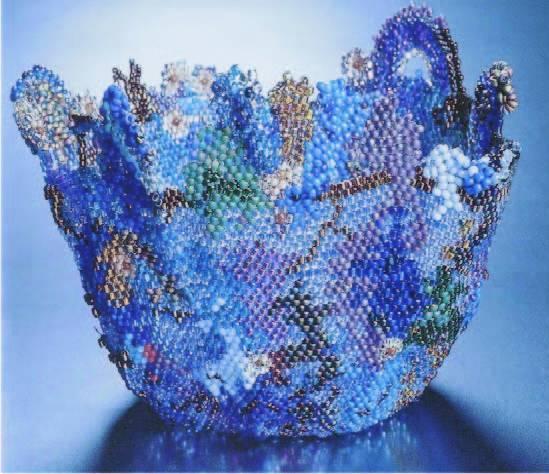Плетение из бисера мозаичная техника видео