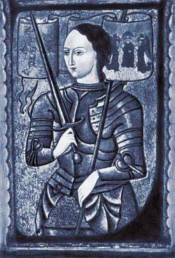 Иллюстрация 1 из 18 для Жанна д'Арк - Анатолий Левандовский   Лабиринт - книги. Источник: Алонсо Кихано