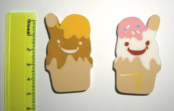 """Иллюстрация 1 из 3 для Ластик """"Мороженое Эскимо""""   Лабиринт - канцтовы. Источник: OOlga"""