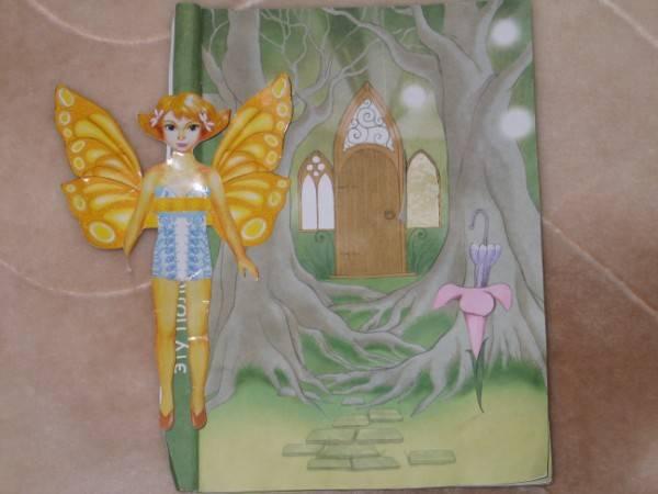"""Иллюстрация 5 к игрушке  """"Бумажная кукла с домиком.  Фея Ромашка """", фотография, изображение, картинка."""