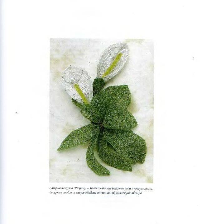 """Иллюстрация 18 к книге  """"Цветы из бисера.  Французское искусство изготовления бисерных цветов """", фотография..."""