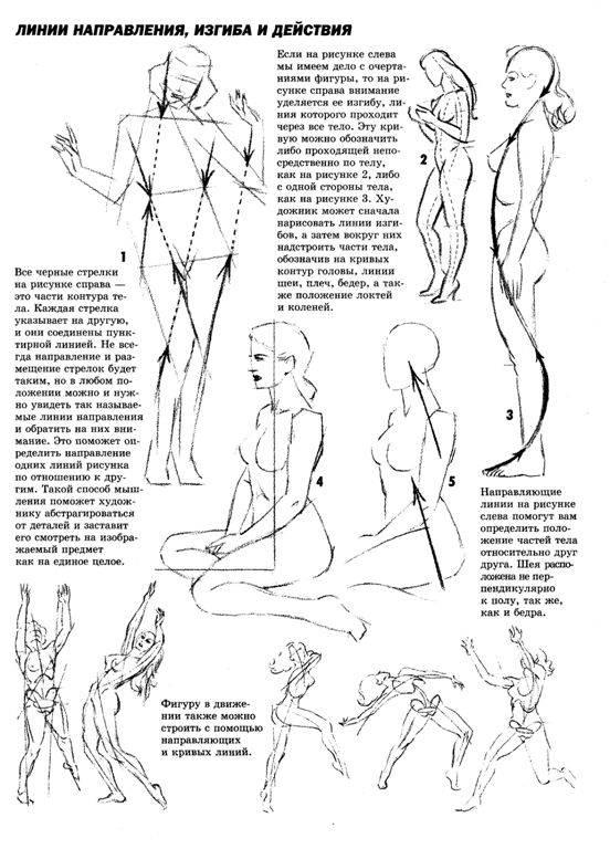 как рисовать человека: