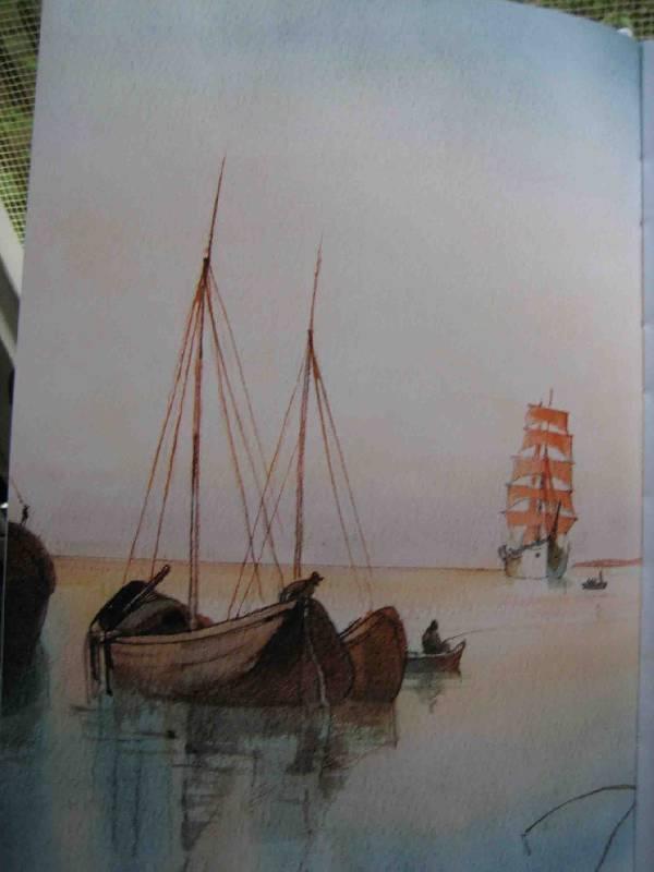 Иллюстрация 1 из 15 для Алые паруса - Александр Грин | Лабиринт - книги. Источник: Трухина Ирина