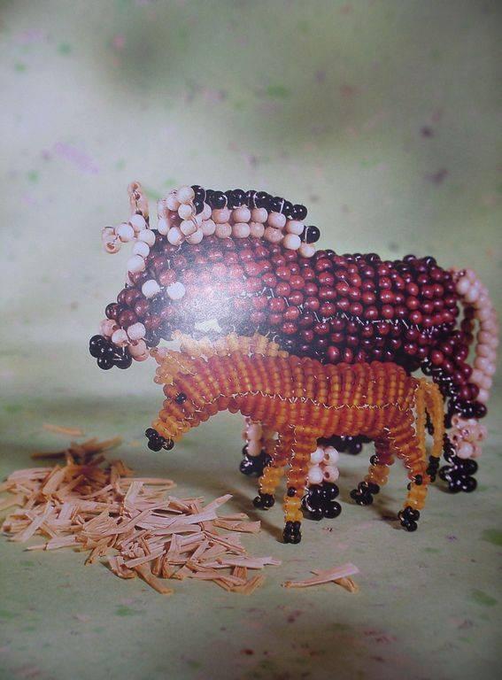 """Иллюстрация 5 к книге  """"Животные из бисера.  Новые идеи для Вашего творчества """", фотография, изображение, картинка."""