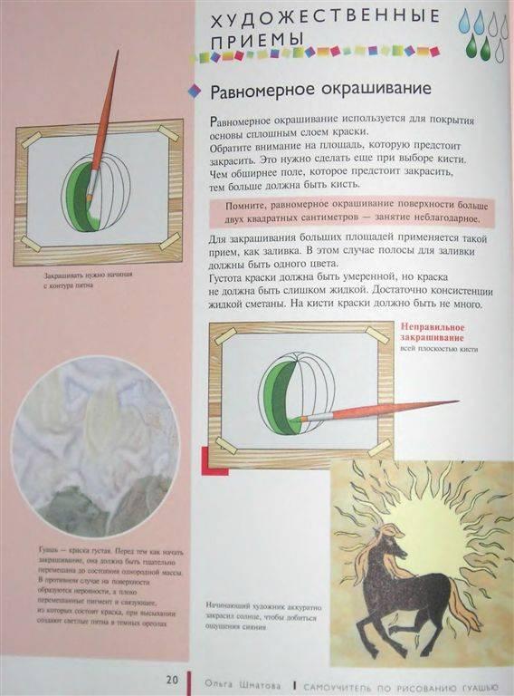 ...по рисованию гуашью: экспресс-курс: учимся рисовать с нуля шаг за...
