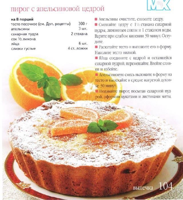 Десерт французская кухня рецепты