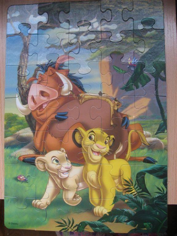 Иллюстрация 1 из 4 для Step Puzzle-35 91103 Король Лев | Лабиринт - игрушки. Источник: Юта
