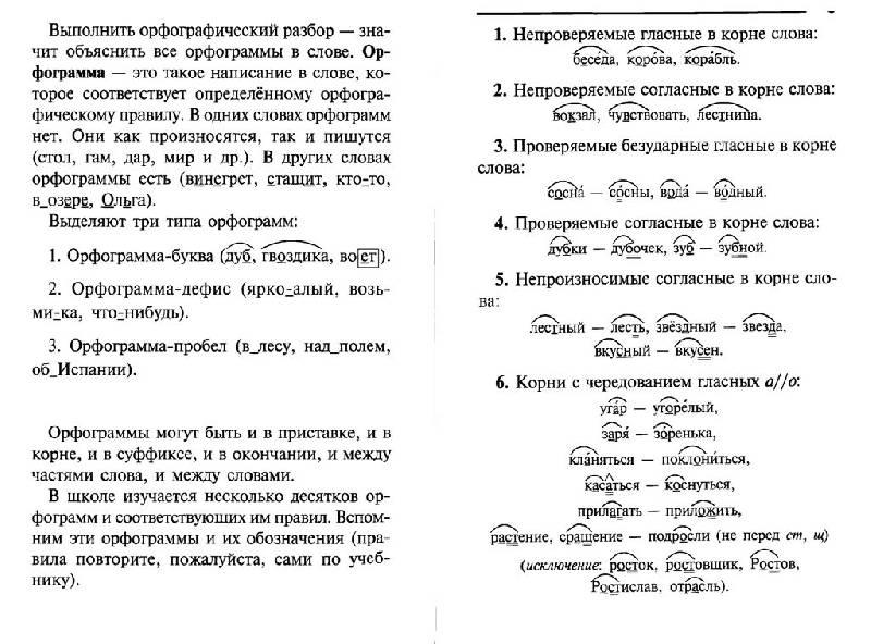 Иллюстрация 1 из 16 для Орфографический разбор слова - Ольга Ушакова | Лабиринт - книги. Источник: Юта