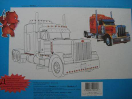 Иллюстрация 1 из 2 для Альбом для рисования 12 листов Красные машинки | Лабиринт - канцтовы. Источник: kitteyn