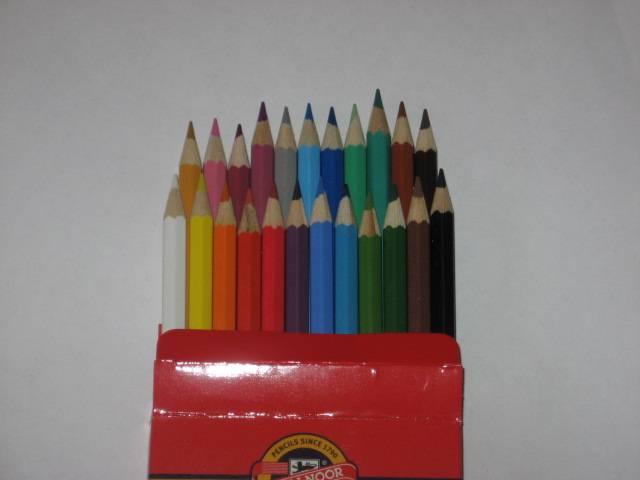 Иллюстрация 1 из 6 для Карандаши 24 цвета (3654)   Лабиринт - канцтовы. Источник: Afina