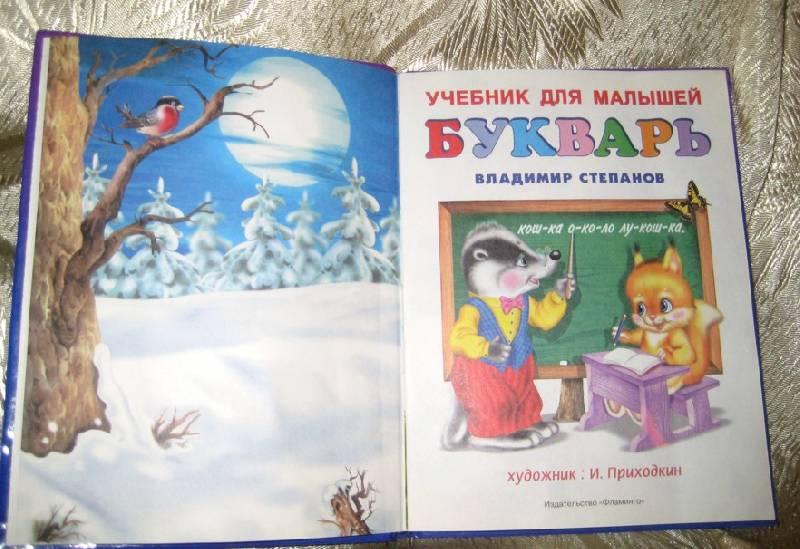 Иллюстрация 1 из 12 для Букварь (енот и белка) - Владимир Степанов | Лабиринт - книги. Источник: Княженика