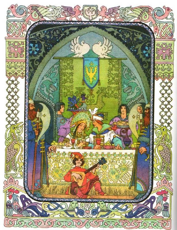 В какой сказке Пушкина герой получает задание собрать