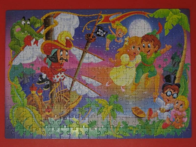 Иллюстрация 1 из 2 для Step Puzzle-260 74043 Питер Пен | Лабиринт - игрушки. Источник: малышка Мю