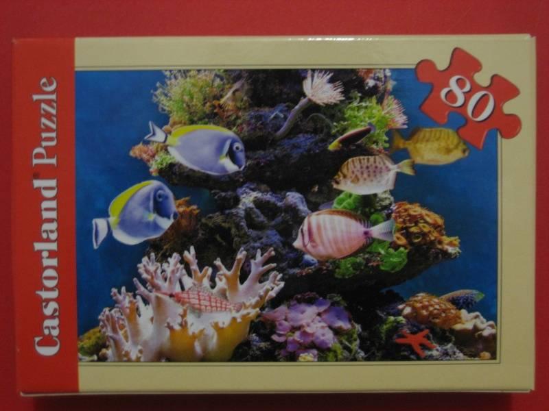 Иллюстрация 1 из 3 для Puzzle-80. Коралловые рифы в ассортименте, 16 штук (A-08514-R) | Лабиринт - игрушки. Источник: малышка Мю