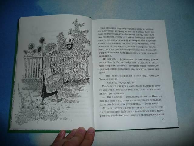 Иллюстрация 1 из 8 для Разбойник Хотценплотц и муравейник с начинкой: Сказочная повесть - Отфрид Пройслер | Лабиринт - книги. Источник: КалинаМалина