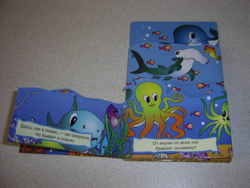 Иллюстрация 2 из 8 для В океане/Книжки-раскладушки Лабиринт - книги.