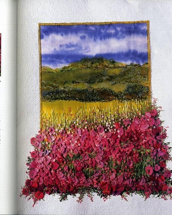 Иллюстрация 1 из 8 для Картины из вышитых цветов - Джилда Бэрон   Лабиринт - книги. Источник: * Ольга *
