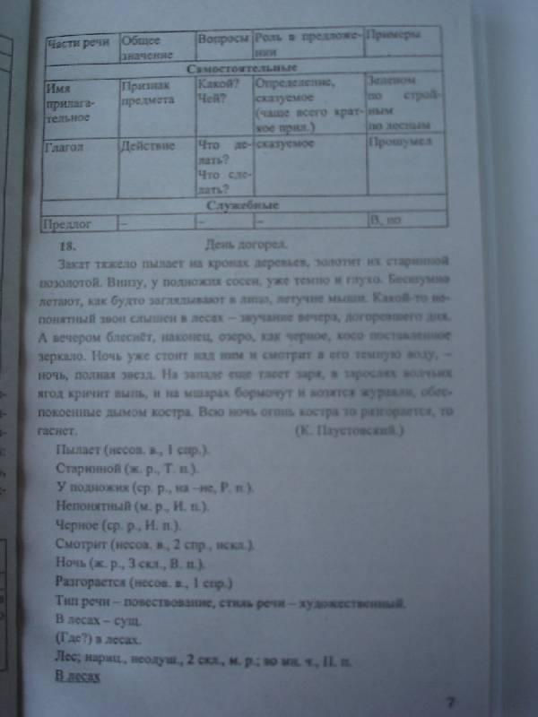 Решебник по 7 Класс Русский язык Ладыженская Тростенцова