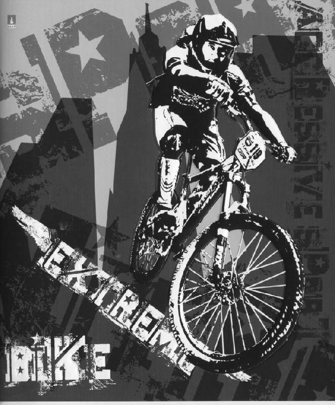 """Иллюстрация 1 из 4 для Тетрадь """"Extreme Moto"""" 48 листов (7-48-905)   Лабиринт - канцтовы. Источник: Zhanna"""