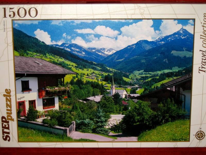 Иллюстрация 1 из 3 для Step Puzzle-1500 Вилла Альбах в горах (83030)   Лабиринт - игрушки. Источник: Губяткин  Павел Владимирович