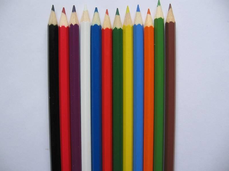 """Иллюстрация 1 из 4 для Карандаши 12 цветов """"Пришельцы"""" (3652)   Лабиринт - канцтовы. Источник: Red cat ;)"""