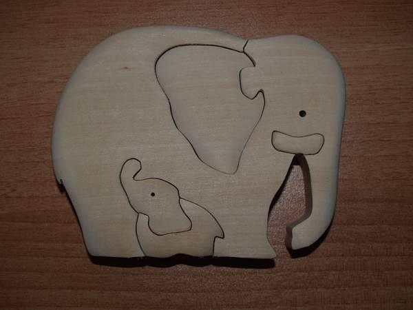 Иллюстрация 1 из 6 для Слониха и слоненок | Лабиринт - игрушки. Источник: Cовушка