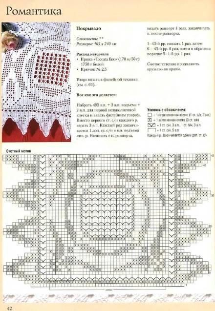 Вязание для интерьера схемы 750