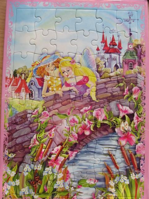 Иллюстрация 1 из 4 для Паззл-рамка: Секрет Волшебных Крыльев №1 | Лабиринт - игрушки. Источник: Юта