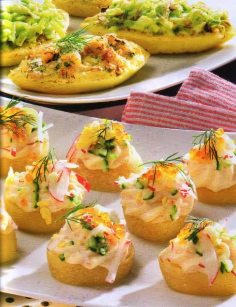 Закуски из картошки рецепты с фото