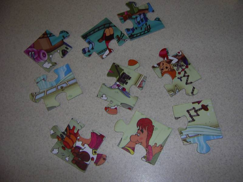 ����������� 1 �� 6 ��� Maxi Puzzle. 9 ���������. ������� (032) | �������� - �������. ��������: ��������