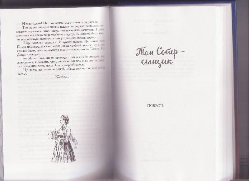 Иллюстрация 1 из 49 для Том Сойер и Гек Финн: Все приключения в одной книге - Марк Твен | Лабиринт - книги. Источник: кротик