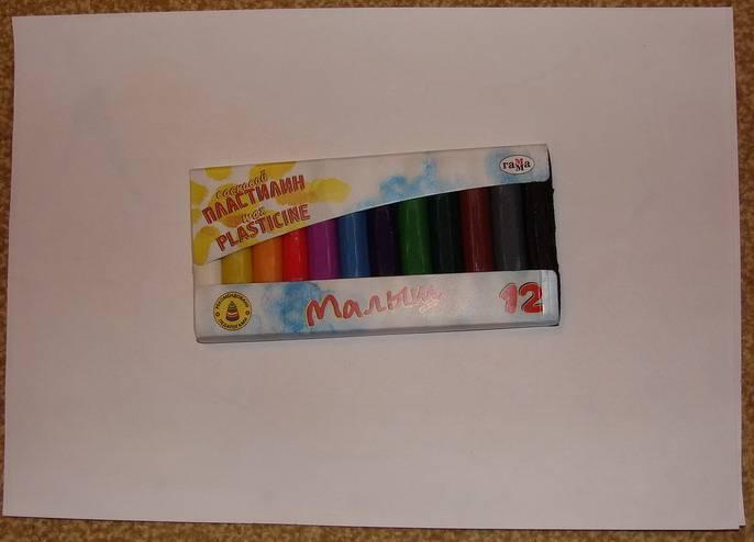 Иллюстрация 1 из 6 для Пластилин восковой 12 цветов Малыш (281041)   Лабиринт - игрушки. Источник: Machaon