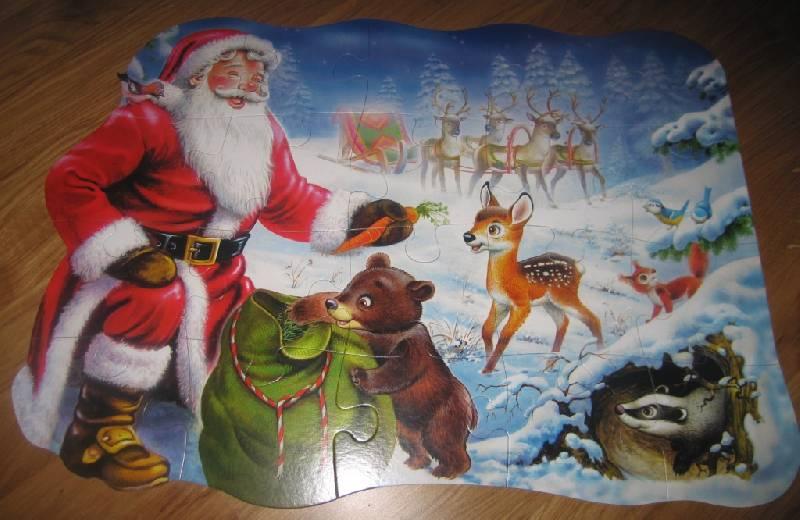 Иллюстрация 1 из 3 для Puzzle-20.MAXI. Новогодняя (С-02078) | Лабиринт - игрушки. Источник: Рыбочкина  Дина Леонидовна