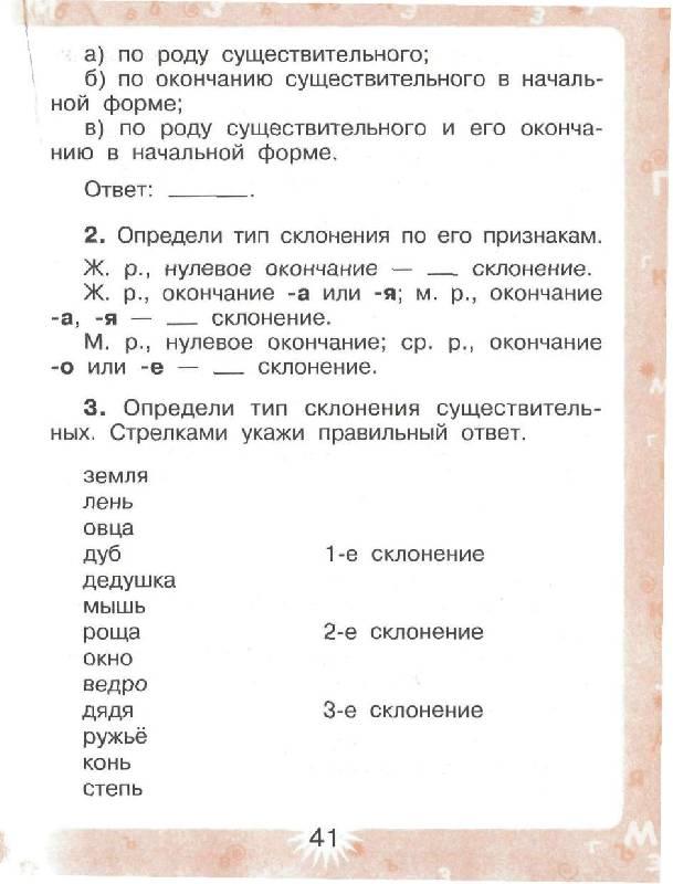 Программа по русскому языку 4 класс