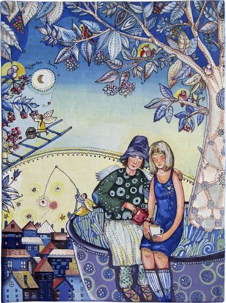 Иллюстрация 1 из 94 для Оле-Лукойе - Ханс Андерсен | Лабиринт - книги. Источник: МЕГ
