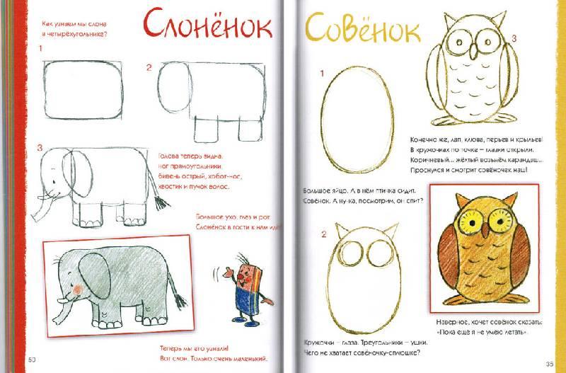 Урок как рисовать детей