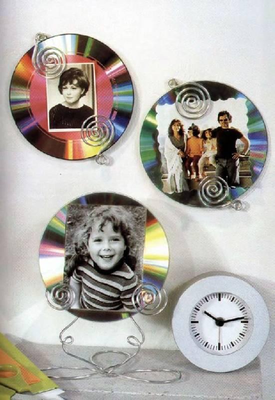 CD диск являются очень удобным, универсальным и эффектным материалом, который можно пустить в дело...